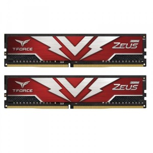 Модуль памяти DDR4 2х8GB 3200MHz Team T-Force Zeus Red (TTZD416G3200HC20DC01)