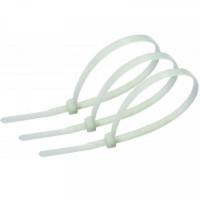 Стяжки Atcom 3,6*300 мм, 100 шт, белые (36300)