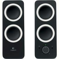 Комп.акустика LOGITECH Multimedia Speakers Z200 (черный)