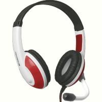 Гарнитура IT DEFENDER (64098)Warhead G-120 2m красный+белый
