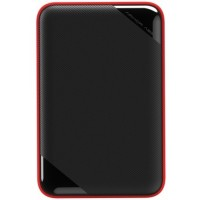 Внешний жесткий диск SILICON POWER 1TB Armor A62 Black (SP010TBPHD62SS3K)