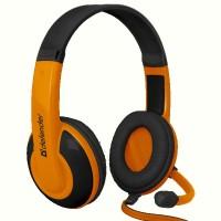 Гарнитура IT DEFENDER (64099)Warhead G-120 2m чорный+оранженвый