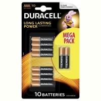 Батарейка DURACELL LR03 MN2400 уп. 1х10 шт.