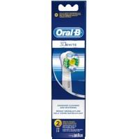 Зубная электрощетка BRAUN ORAL_B насадка 3D White 2шт