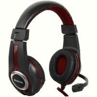Гарнитура IT DEFENDER (64106)Warhead G-185 2m чорный+красный