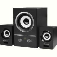Комп.акустика DEFENDER (65527)2.1 V9, 11Вт, USB черный